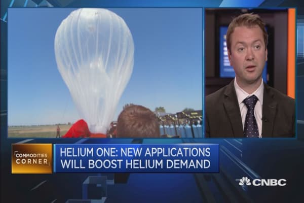 Here's why helium gas is big business