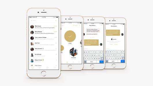 A screenshot of the SuperPhone app