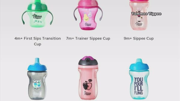 Massive recall for kids' spill-proof cups