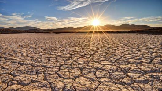 Mojave Desert.