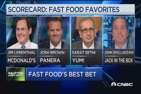 Fast food's best bet