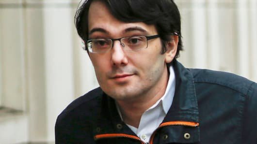 Martin Shkreli, former Chief Executive Officer of Turing Pharmaceuticals