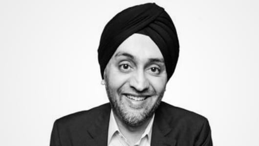 Hardeep Walia, founder and CEO of Motif Investing