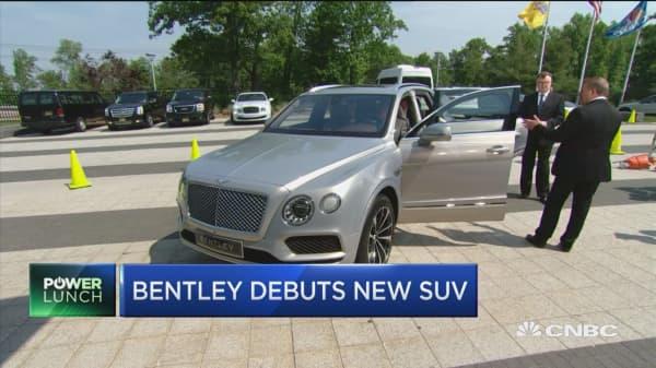 Bentley debuts new SUV