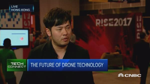 China's ehang builds a drone to fly humans