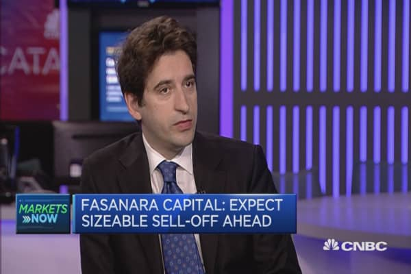 Expect sizeable sell-off ahead: Fasanara Capital
