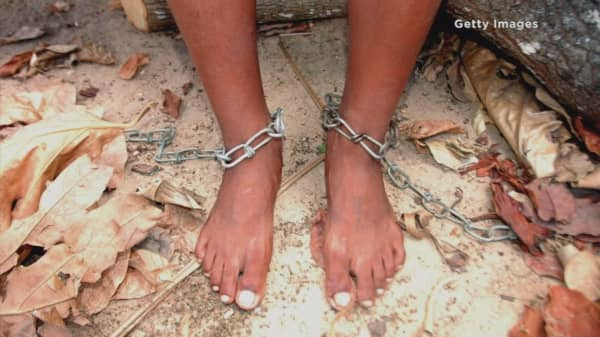 Nearly 46M people trapped in slavery worldwide