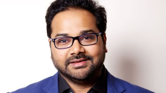 Ambarish Mitra, co-founder and CEO of Blippar