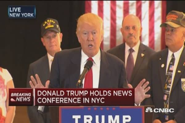 Veteran: Donald Trump cares about veterans