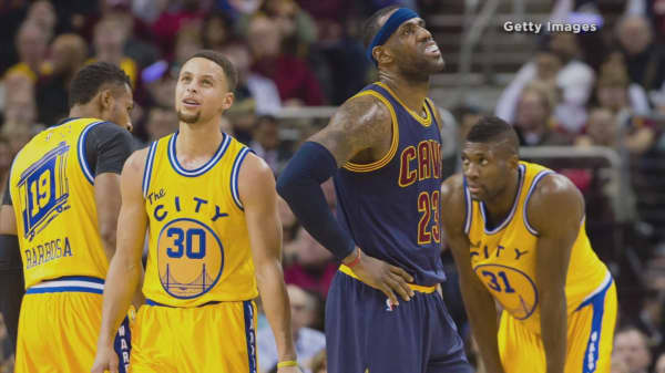 NBA ticket prices spike for Lebron James and Stephen Curry rematch