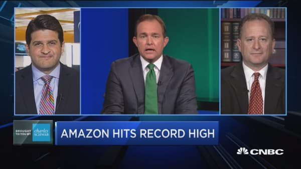 Trading Nation: Amazon hits record high