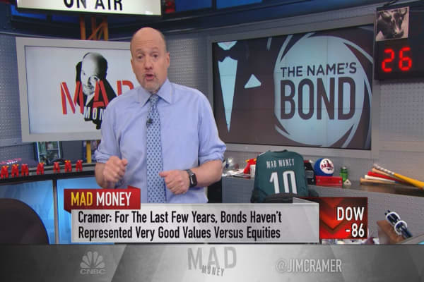 Cramer: Bond exposure by age—protecting yourself from market volatility