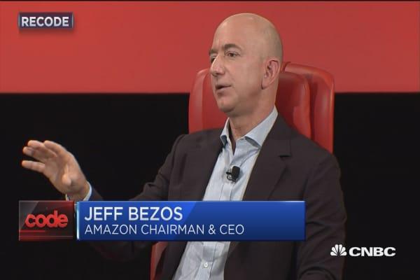 Bezos on Trump