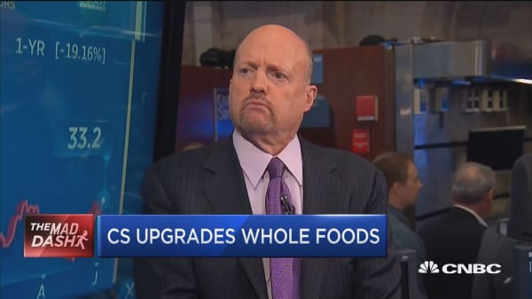 CS upgrades Whole Foods