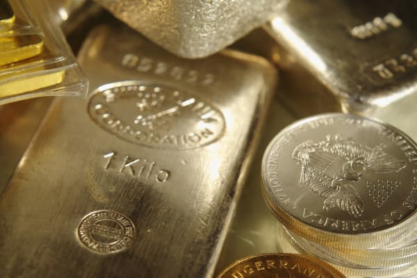 Gold Silver and currency