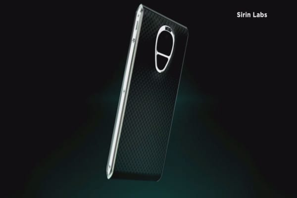 High-security luxury smartphone selling for $14K