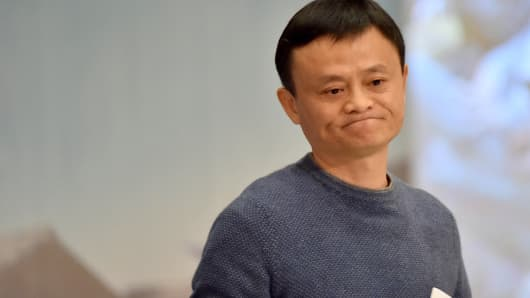 Jack Ma, founder and chairman of Alibaba Group