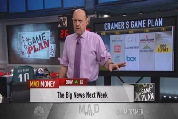 Cramer's game plan: All eyes on employment, Fed could pull the trigger