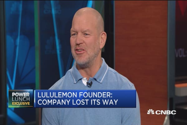 Lululemon founder: Company has lost its way