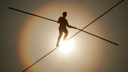 High wire act risk