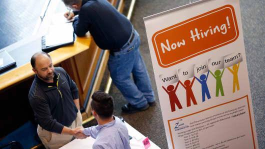 Job seekers job fair
