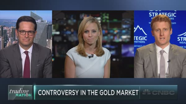 Gold has become very controversial, according to Goldman