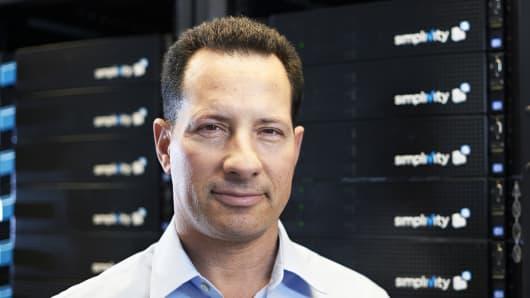 SimpliVity CEO Doron Kempel