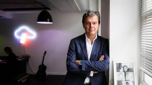 Hans-Holger Albrecht, CEO of Deezer