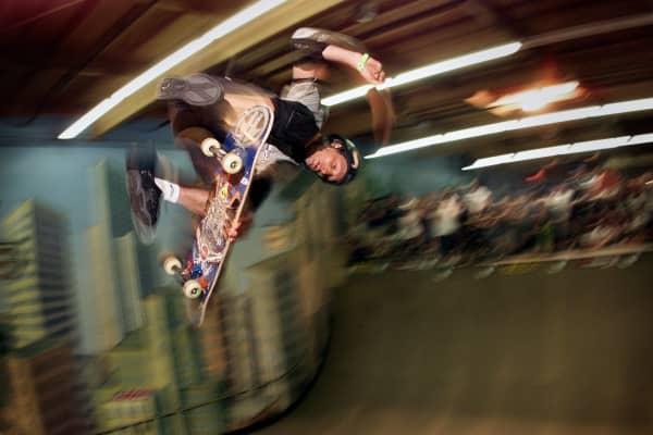 Tony Hawk, professional skateboarder