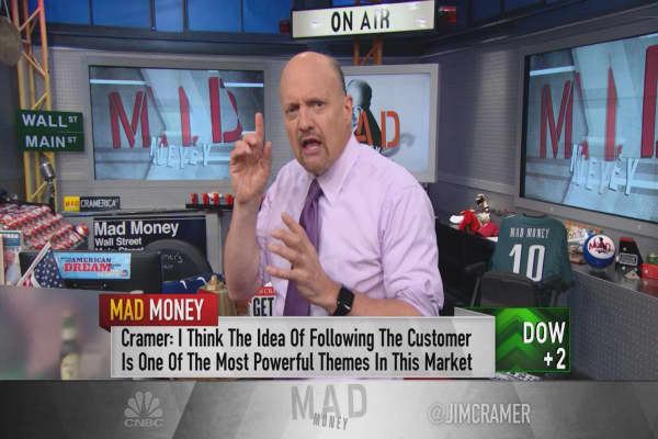 Cramer: The money-making theme that Amazon & Salesforce have figured out