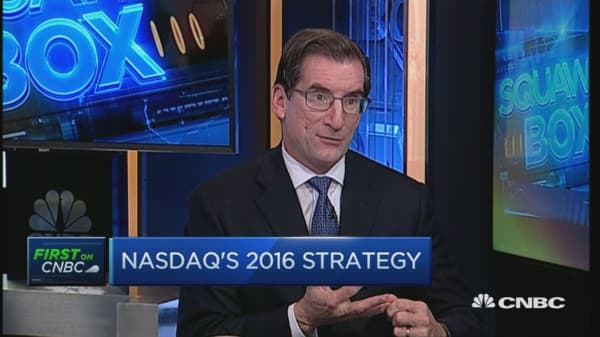 First on CNBC : Nasdaq CEO