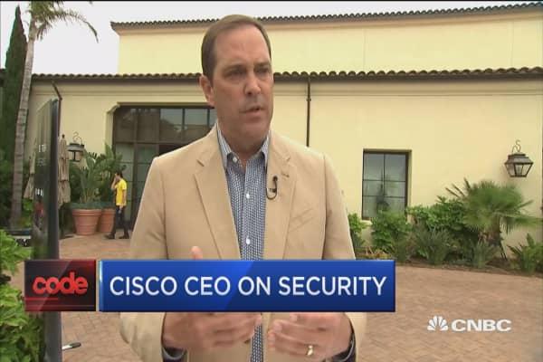 Cisco CEO on security