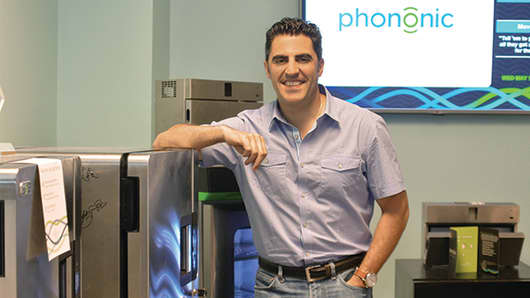 Tony Atti, co-founder, president and CEO of Phononic