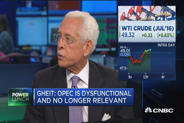 Oppenheim's Gheit: OPEC is over!