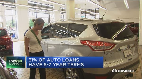 Auto loans top $30K