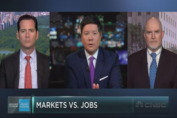 Will the jobs report help the market break out, or break down?