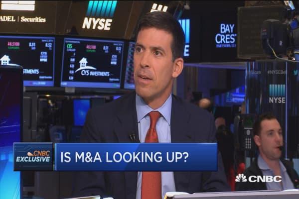 Goldman on M&A landscape