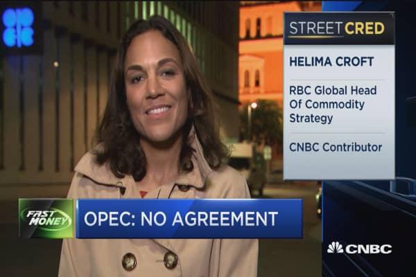 OPEC: No agreement