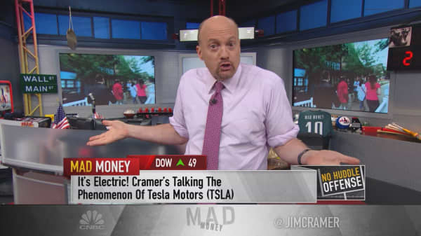 Cramer: Love Tesla? Here's your play on the connected car