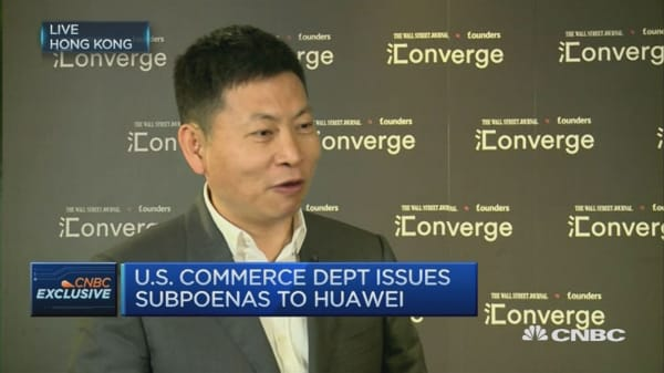 CNBC Exclusive : Huawei CEO