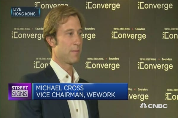 WeWork: Co-sharing