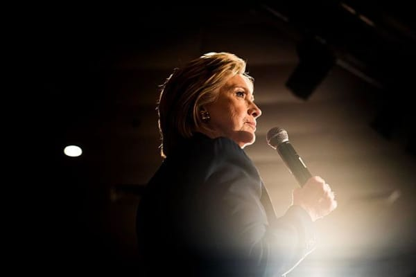 Hillary Clinton, Democratic presidential candidate