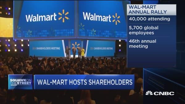 Wal-Mart hosts shareholders