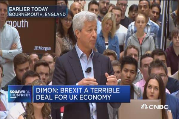 Dimon: Say no to Brexit