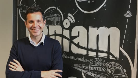 João Barros, founder and CEO of Veniam
