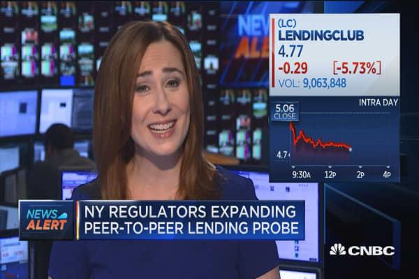 NY regulators expand P2P lending probe