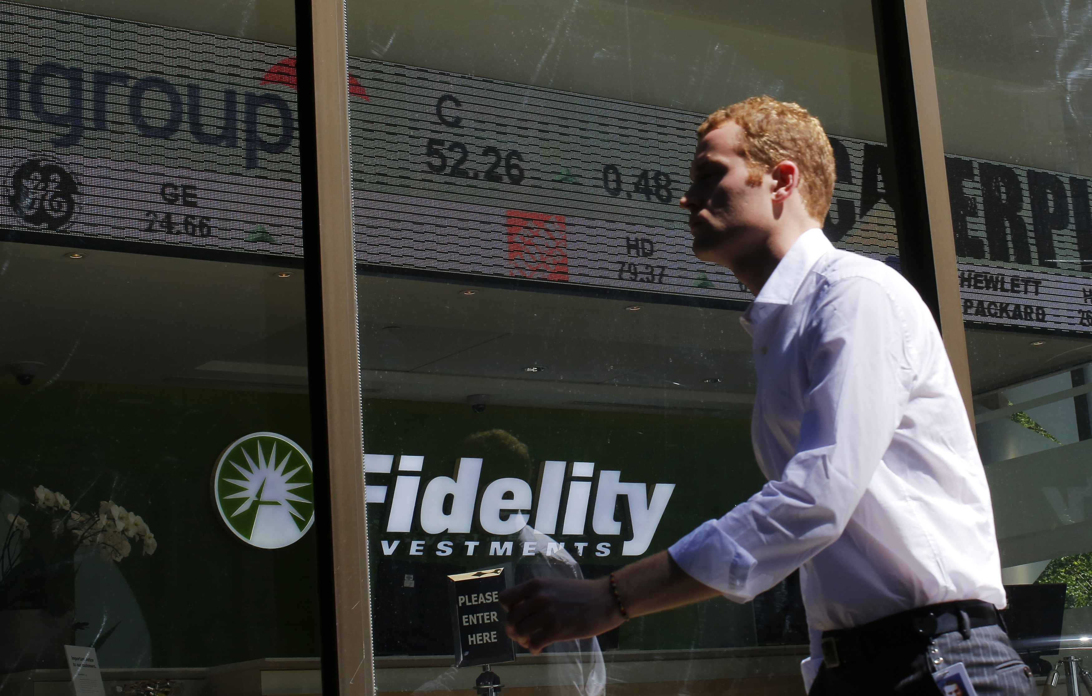 Fidelity Stock Quotes Fidelity Says It Saw No Panic Among Its Customers And More Buying