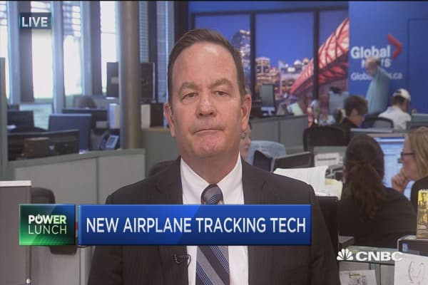 New airplane tracking tech