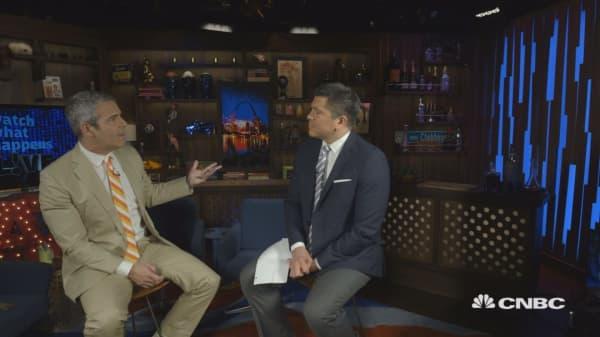 Andy Cohen: The marathon is the cornerstone of Bravo