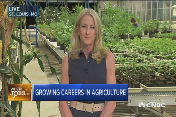 Growing careers in agriculture